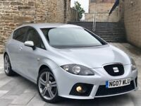 "✅ SEAT LEON FR TDI 170 + 18"" ALLOYS + TIMING BELT DONE + FSH + 2KEYS + BARGAIN (GOLF SPORT/AUDI A3)"