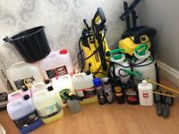 Car valeting products (ideal for business)