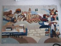 New individually designed Jerusalem Wall Tapestry/Rug