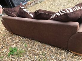 2 sofas available in good condition