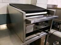 commercial archway chargrill grill griddle catering equipment