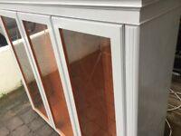 Shelving unit ,glass cupboard