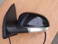 Genuine Volkswagen Golf MK5 04-08 L/H Door/Wing Mirror Metallic Black