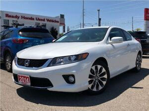 2014 Honda Accord Coupe EX - Sunroof -- Alloys-  Rear Camera
