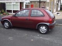 AUTOMATIC CORSA 1997,24,300mls 2 0WNERS FROM NEW LAST OWNER FOR 17 YEARS VGC MOT TILL MARCH 2018