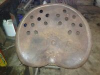 Vintage Tractor Seat- Been stored for years.