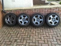 "VW, Audi, Skoda - 16"" Alloys & Winter tyres"