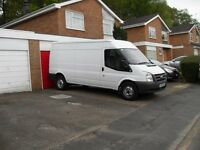 HOUSE FLAT GARAGE OR OFFICE CLEARENCES COLLECTIONS DELIVERIES MAN WITH A MEDIUM SIZED VAN