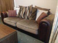 2 X large Sofas....free