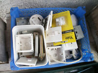Assorted DiY plugs sockets door fixings and bits and bobs £10 the lot