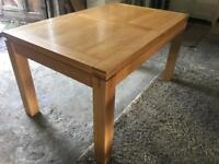 Oak Extending Kitchen dining table BRAND NEW