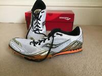 Track running trainers with spikes