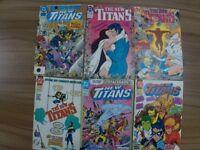 DC Comics New Teen Titans and Tales of the Teen Titans x 17
