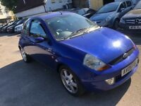 FORD KA 1.6 SPORT 2005 LONG MOT DRIVES WELL FULL LEATHER INTERIOR MOT TILL N...