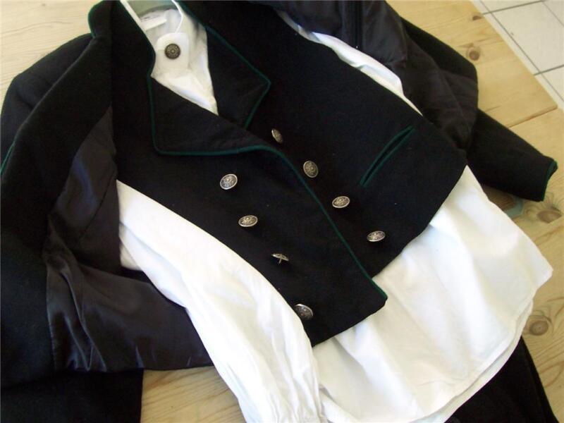 XL++EU56 NORWEGIAN DESIGNED MENS  BUNAD FESTDRAKT w/suspenders, No shirt NORWAY