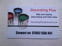 Painting & Decorating for you...