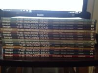 The Walking Dead Graphic Novels 1-15