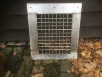 Stainless Steel Vent/Air intake Garage, Factory, Shop, Restaurant