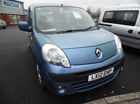 Wheelchair Accessible Renault Kangoo 2012 - 12 Month Warranty