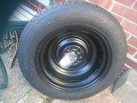 Brand new Nissan Juke spare tyre