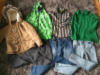 Boys winter bundle age 8