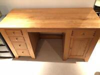 Oak Furniture Land Desk Solid Wood