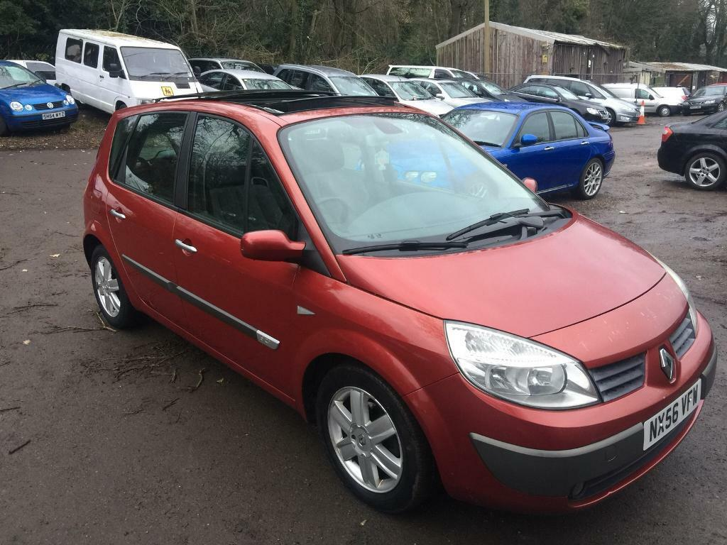 2006 RENAULT SCENIC 1.5 DCI 6 SPEED MANUAL