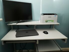 Computer table and office chair for sale