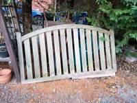 Used fence panel