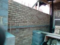 BRICKLAYER GANG *CHEAP PRICE WORK AND RELIABLE* Extension Porch patio Garden Wall Fence Brickwork