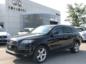 2014 Audi Q7 TDI S Line Sunroof , Navigation , Back UP CAM!