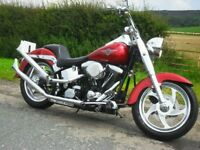 Harley Davidson FAT BOY Evo Engine low mileage with loads of chrome