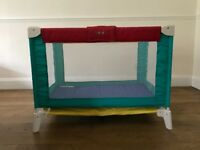 Bebe Tours Travel Cot, good condition, pet free, non-smoking house