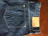 Genuine Hugo Boss Kansas Regular Fit Jeans - W40 x L32 - Never Worn, Excellent Condition