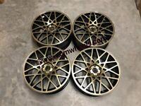 19″ Inch Rotiform BLQ style VW Alloy Wheels VW Golf MK5 MK6 MK7 Audi A3 Seat Leon Caddy 5x112
