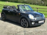 Immaculate 2009 Mini Cooper 1.6 Convertible, only 57k, trade in considered credit cards accepted