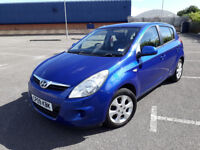 2009(09)HYUNDAI i20 1.4 COMFORT MET BLUE,5DR,AIRCON,ALLOYS,CLEAN CAR,GREAT VALUE