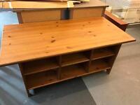 Ikea coffee table / tv unit