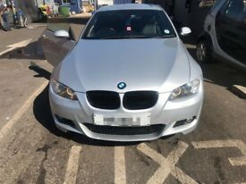 BMW 335d silver 57 plate