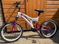 Girls Bike 20 (age 5-9) Muddy Fox
