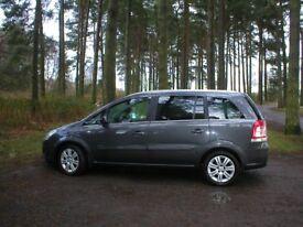 Vauxhall Zafira Top Spec, Great Family Car