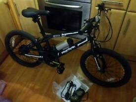 Zinc reaction electric assisted bmx
