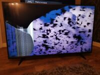 55 inch Tv Damaged so spares or repairs