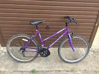 Universal Rapid Reactor Ladies Mountain Bike. Serviced. Free Lights, Delivery.