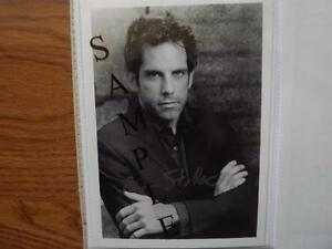 "FS: Ben Stiller ""Autographed"" Black & White 5x7 Photo London Ontario image 1"