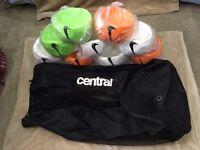 Brand New 9 Nike Football ball Size 5 & Carrier bag