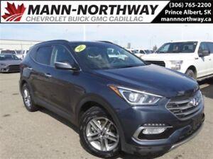 2018 Hyundai Santa Fe Sport |  Leather, Sunroof, AWD, Park Assis