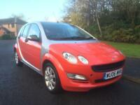 SMART FORFOUR COOLSTYLE , 1.1 5DR , GEN LOW MILES , MOTD JUNE 18 ,