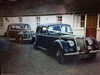 Vintage Wedding Car Available to Hire