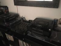 CDj1000mk3 and DJM600 Mixer £650